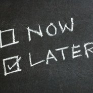 Start Procrastinating!