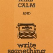 3 Ways to Get Out of A Rut and Write